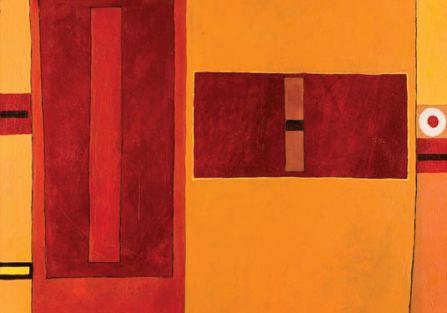Kompozycja , 1962 r., J. Nowosielski, POLSWISS ART, CS, 165 000 zł