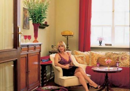 Krystyna Muhlbauer w salonie. Nowy Świat jak Nowy Jork