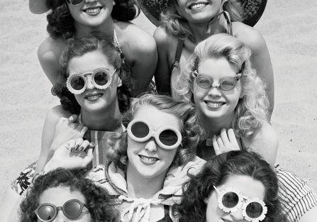 Historia okularów przeciwsłonecznych