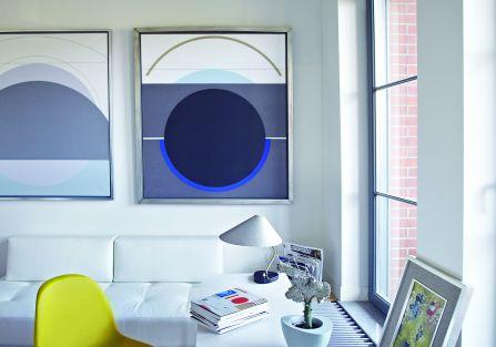 Spotkanie ze sztuką – apartament w nowoczesnym stylu