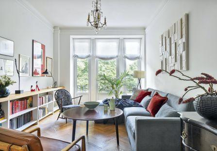 mieszkanie w eklektycznym stylu
