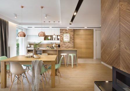 nowoczesne wnętrze salon meble