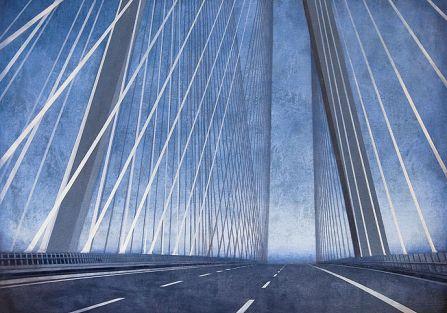 Obraz Joanny Pałys. Miejskie krajobrazy Joanny Pałys