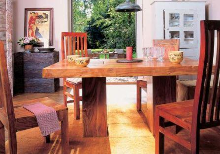 Od tego indyjskiego stołu zaczęła się przygoda Justyny i Larsa ze sklepem Belbazaar.