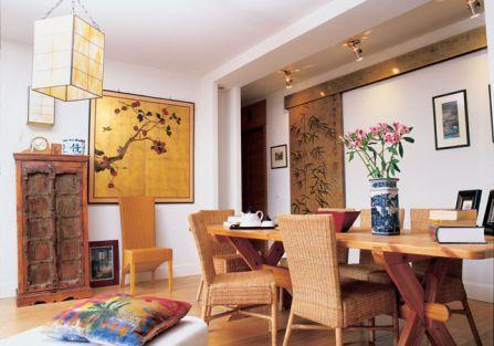 Miejski apartament w orientalnym stylu