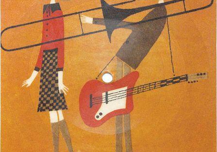 Pan przygrywa pani na puzonie, a jak trzeba będzie, to i na elektrycznej gitarze, czyli jazzman i bigbitowiec w