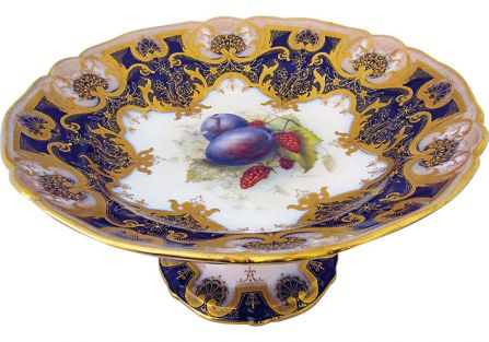 Patera Royal Worcester Fruit powstała w latach 1913-1925