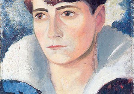 Portret siostry Marii, ok. 1932 r. Karol Hiller - ostatni romantyk
