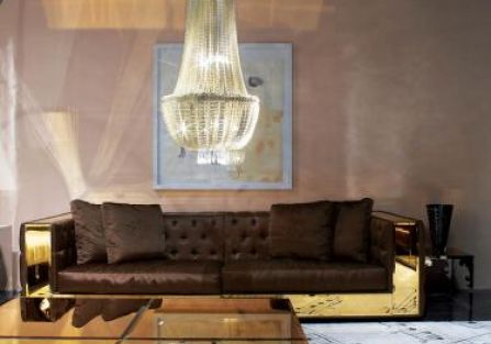 Projektanci mają słabość do oryginalnych dywanów - z tego czyta się jak z nut.