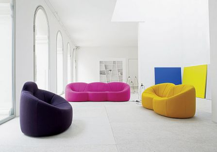 Kolorowe kanapy
