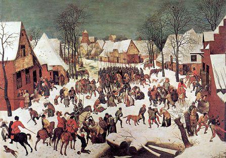 Rzeź niewiniątek , 1565 r., Pieter Bruegel Starszy