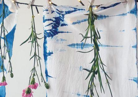 Shibori to starożytna japońska technika barwienia tkanin.