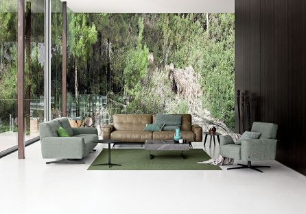 Sofa 50, Rolf Benz. Królestwo skóry