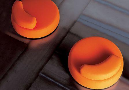 Sofa i fotele z kolekcji Bubble Rock firmy Living Divani.