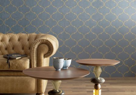 stylowe wnętrze kanapa i stolik kawowy