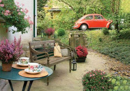 Świetne miejsce na chwilę relaksu przy herbacie.