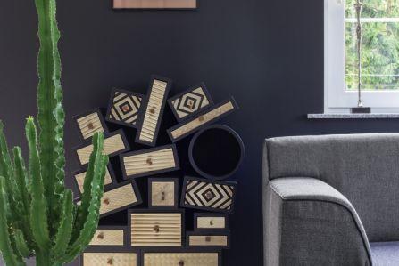 W tym nowoczesnym wnętrzu stare łączy się z nowym – Ewa zafascynowana współczesnym designem w swoim domu połączyła go