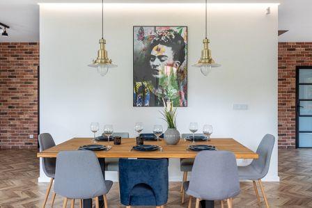 nowoczesny i przytulny dom