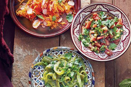 orientalna kuchnia przepisy sałatka z białej papryki