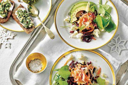 przekąski sylwestrowe sałatka warzywa