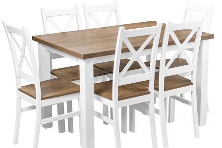 stół i krzesła do domu