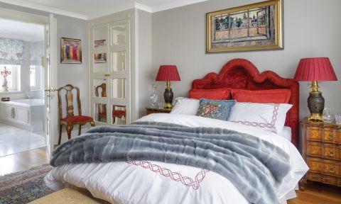 styl klasyczny sypialnia