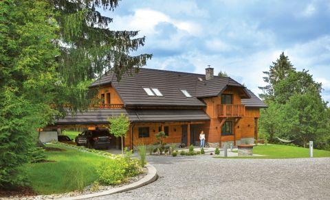drewniany dom podkarpacie