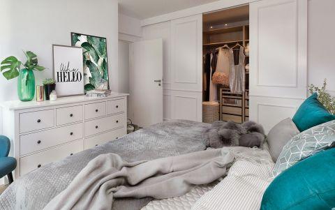 nowoczesne wnętrze sypialnia meble