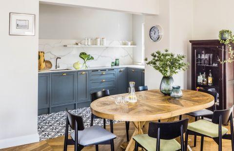 jak urządzić salon z kuchnią