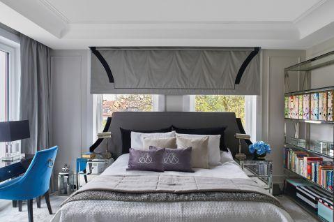 sypialnia w stylu art deco i nowojorskim