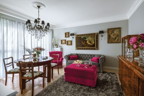 klasyczny salon