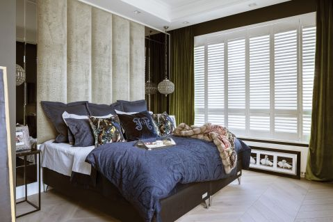 sypialnia w stylu nowojorskim