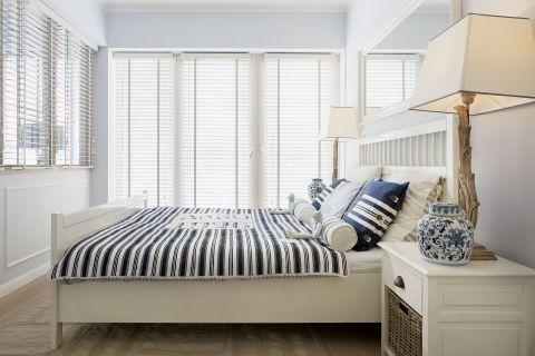 sypialnia w stylu marynistycznym
