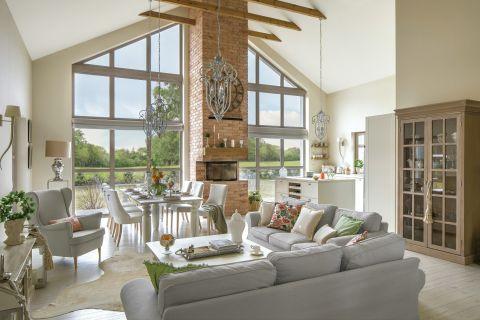 dom w stylu modern classic