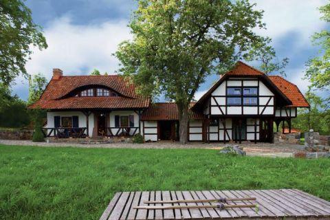 Dom zdobi mur pruski. Młyn spełnionych marzeń