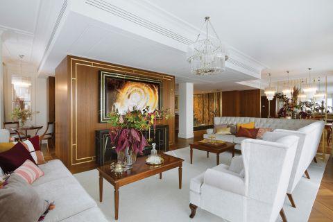 luksusowe wnętrza salon