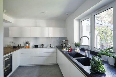 biała kuchnia w stylu nowoczesnym