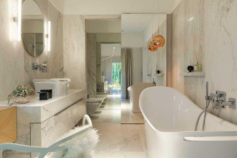 nowoczesny dom łazienka biel