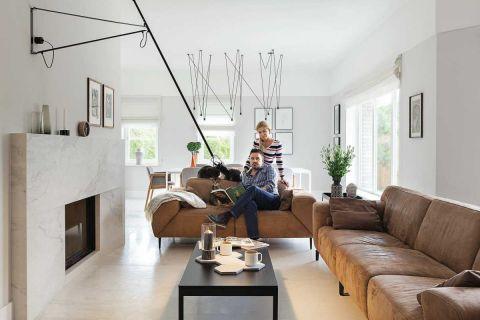 nowoczesny dom salona aranżacja