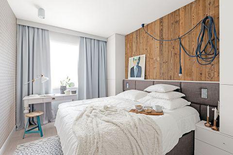 Sypialnia w stylu skandynawskim. Mieszkanie w stylu skandynawskim