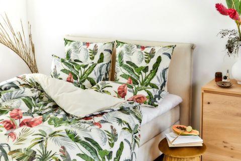 aranżacja sypialni na lato