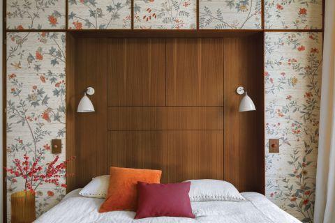 sypialnia w stylu vintage dekoracje