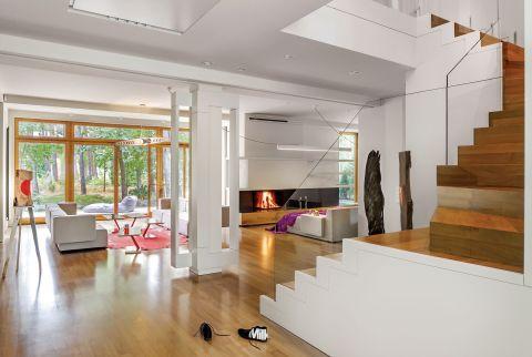 nowoczesne wnętrze salon shody