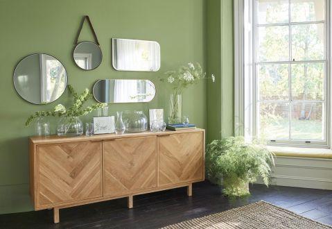 Dekoracje do domu: lustra jak obrazy