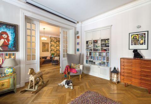 wystrój salonu nowoczesne dekoracje i meble vintage