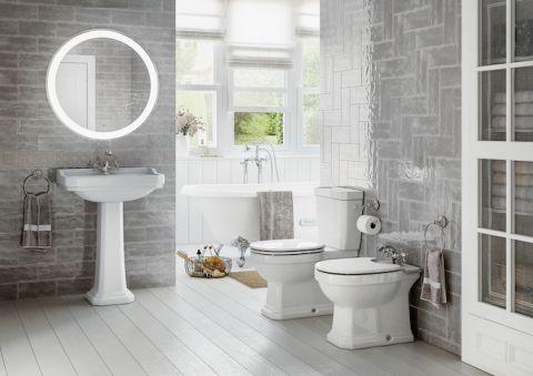 klasyczna łazienka aranżacje zdjecia
