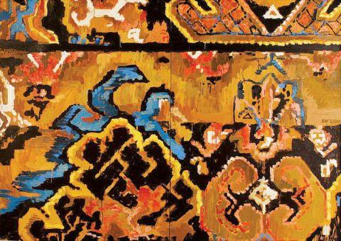 Malowane kobierce Olgi Wolniak