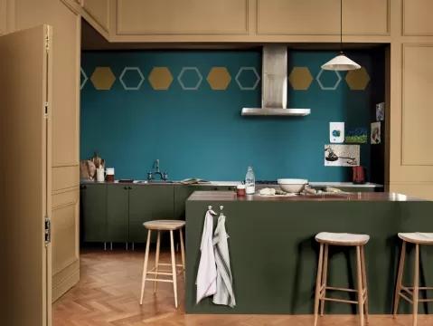 zielona kuchnia zdjęcia