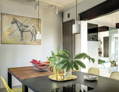 stylowe wnętrze kuchnia obraz