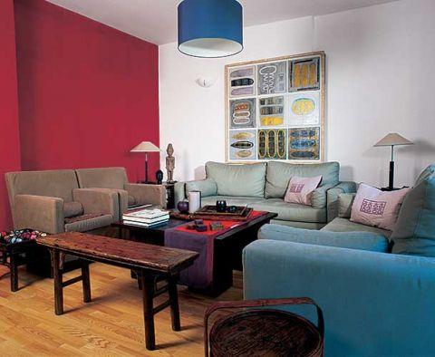 W salonie znajdziemy wygodne kanapy i fotele.